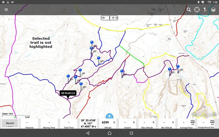 Apps That Use GPX Files Jeep The USA - Trail map apps